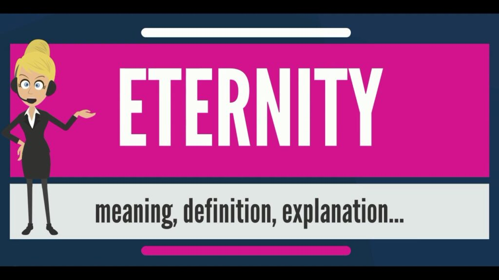 What Can Be Found at the Beginning of Eternity Means